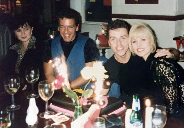 Joint Birthday celebrations for Doody (me) and Sandy (Charlie Isabella King / Helen Way) with Ross King and Coleen Nolan