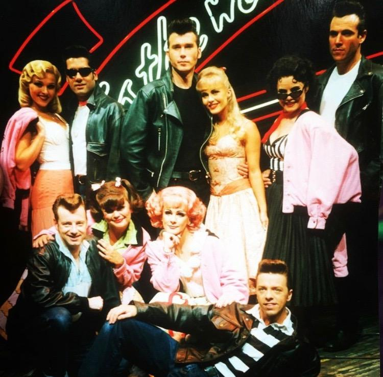 Birmingham Grease cast with Ian Kelsey Joining as Danny Zuko
