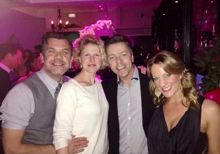 Grease gang back together at Stephen Mears 50th Birthday party