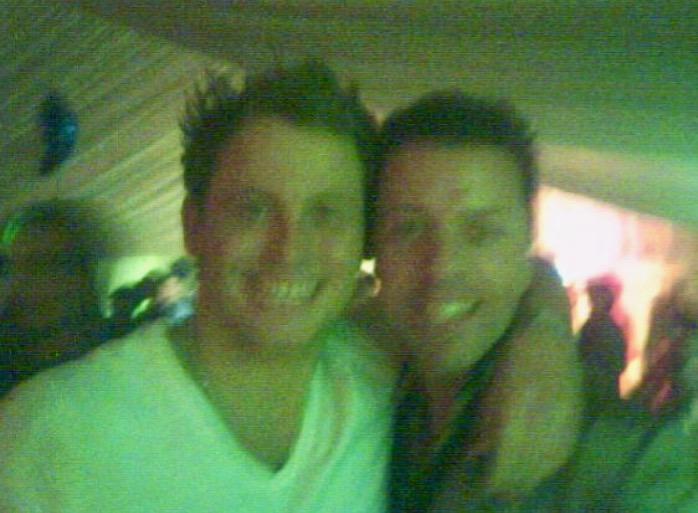 Joe Swash and Me celebrating at Eastenders party