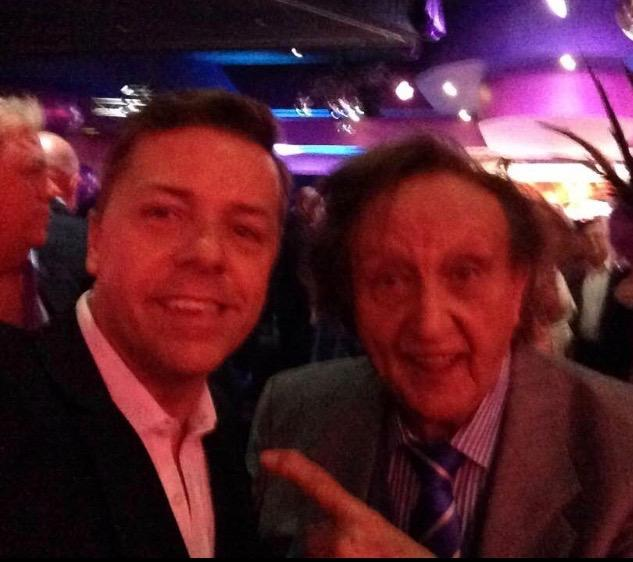 A great night with Sir Ken Dodd.A lovely man and a greatly missed talent