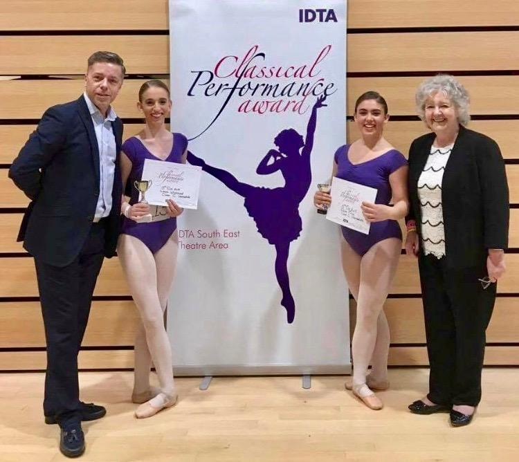 Our girls were the winners of the South East Ballet Championships