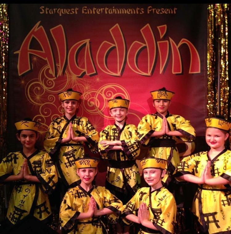 One of the groups for our productions of Aladdin