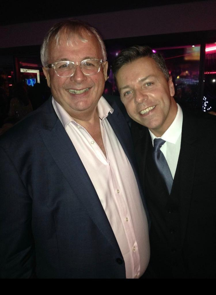Biggins and Me at the Encore event in Blackpool