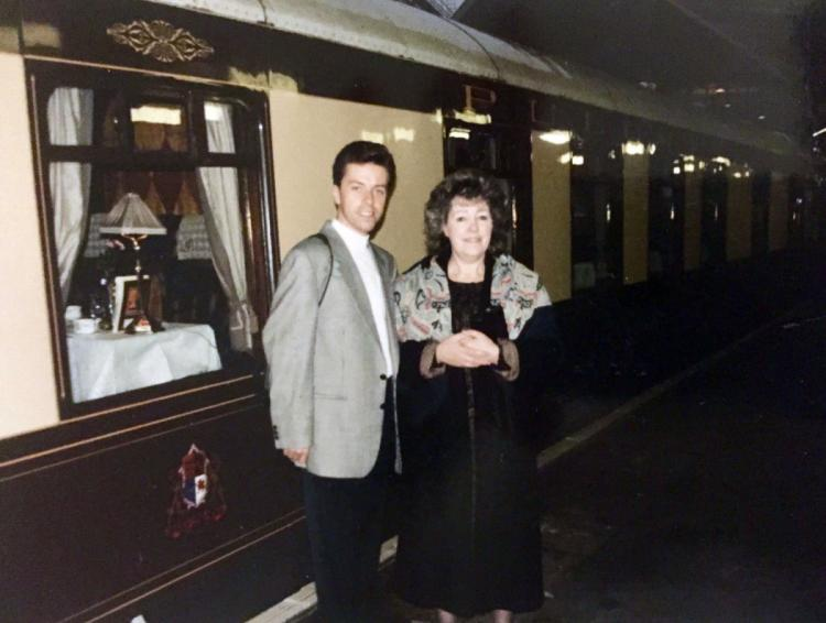 Murder Mystery with Mum on the Orient Express vacation