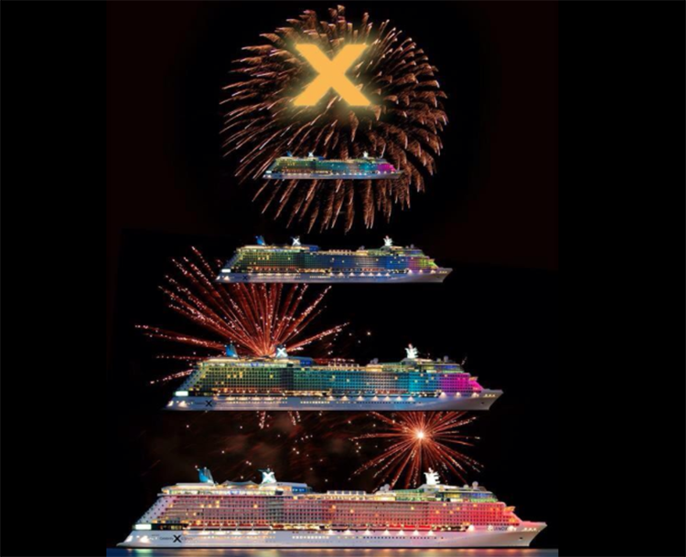 Proud that we produced the original conception shows for the inaugural fleet of CELEBRITY CRUISES